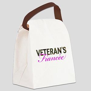 Marine Vet's Fiancee Woodland Canvas Lunch Bag