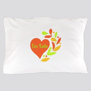 Ham Radio Heart Pillow Case