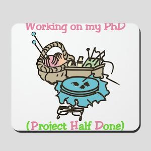 PhD Mousepad