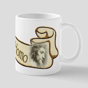 Ecce Homo scroll Mug