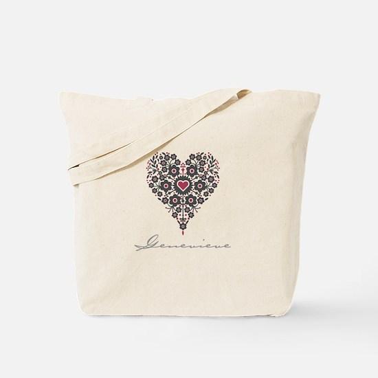 Love Genevieve Tote Bag
