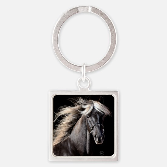 choco_horse_rnd.png Square Keychain