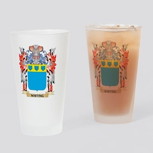 Whiting Coat of Arms - Family Crest Drinking Glass