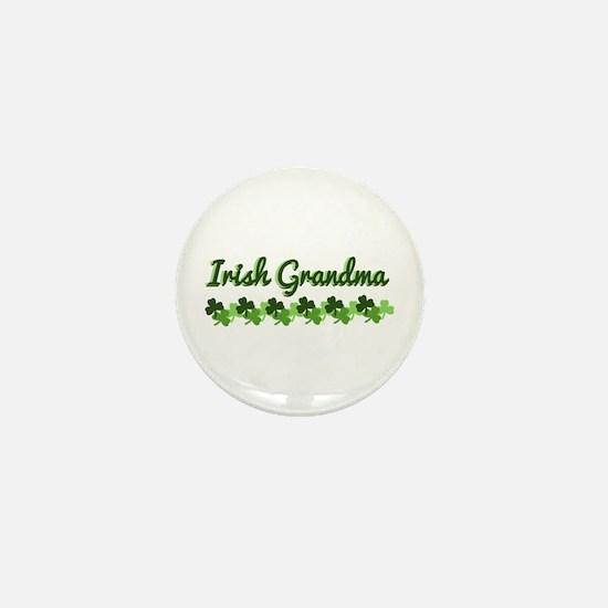 Irish Grandma Mini Button