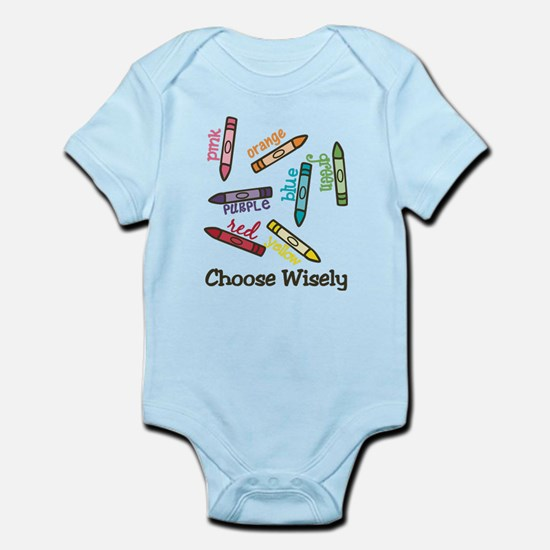 Choose Wisely Body Suit
