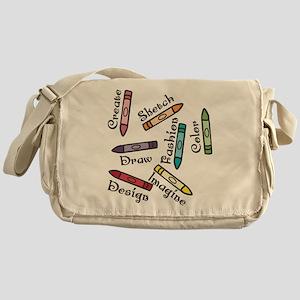 Draw Messenger Bag