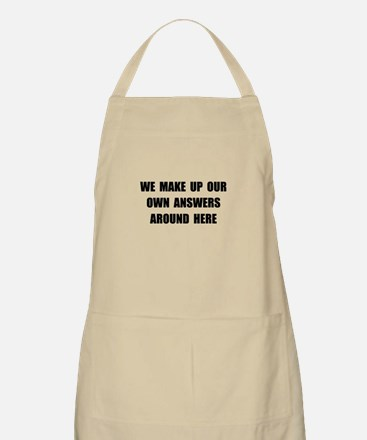 Make Up Answers Apron
