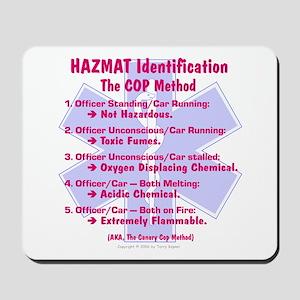 Hazmat ID - Cop Method Mousepad