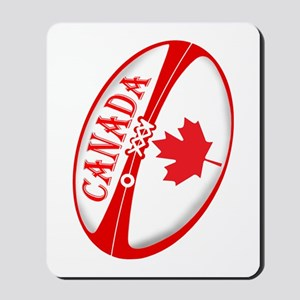 Canadian Rugby Ball Mousepad