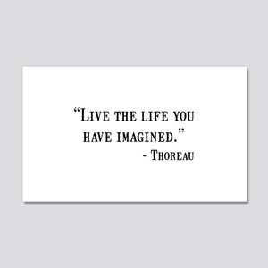 Thoreau Quote Wall Decal
