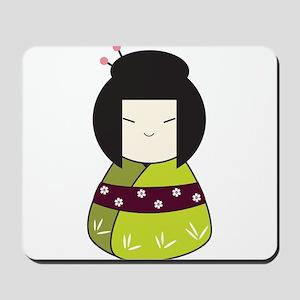 Japanese Doll Mousepad