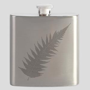 Silver Fern Aotearoa Flask