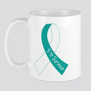 Cervical Cancer 5 Year Survivor Mug