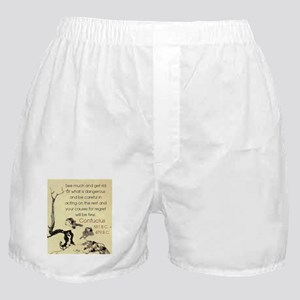 See Much And Get Rid Of - Confucius Boxer Shorts