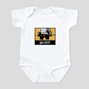Got Stick? (Hockey) Infant Bodysuit