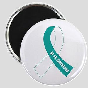 Cervical Cancer 10 Year Survivor Magnet