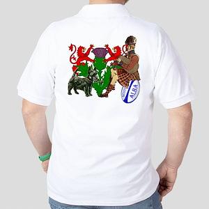 Scotland Rugby Golf Shirt