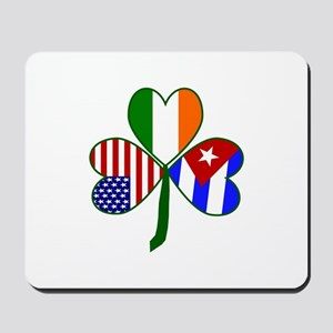 Shamrock of Cuba Mousepad