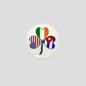 Shamrock of Cuba Mini Button