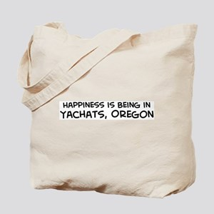 Yachats - Happiness Tote Bag