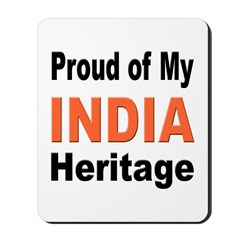 Proud India Heritage Mousepad