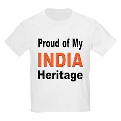Proud India Heritage Kids T-Shirt
