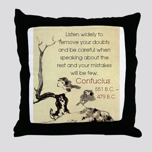 Listen Widely To Remove Your Doubts - Confucius Th