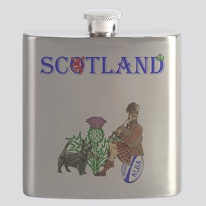 Scottish Rugby Flask