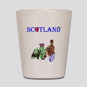 Scottish Rugby Shot Glass