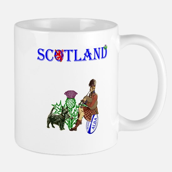 Scottish Rugby Mug