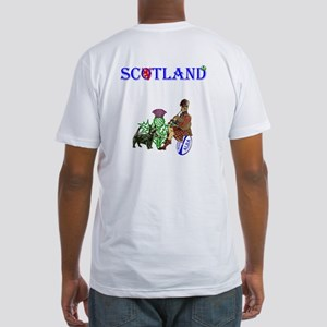 Scottish Rugby Fitted T-Shirt
