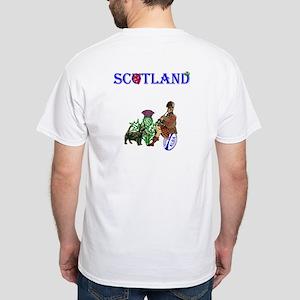 Scottish Rugby White T-Shirt