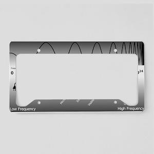 Electromagnetic spectrum - License Plate Holder
