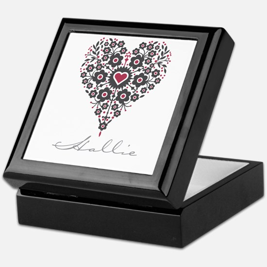 Love Hallie Keepsake Box