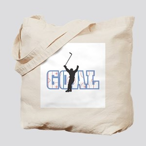 Hockey Goal Design Tote Bag