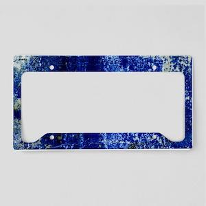 Lapis lazuli - License Plate Holder