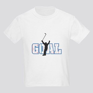 Hockey Goal Design Kids T-Shirt