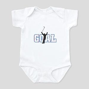 Hockey Goal Design Infant Bodysuit