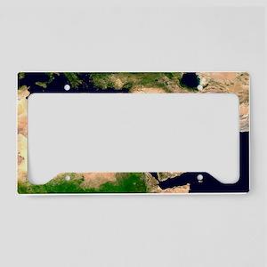 Middle East - License Plate Holder