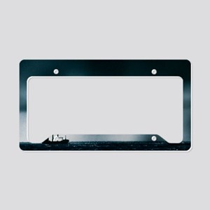 y weather - License Plate Holder