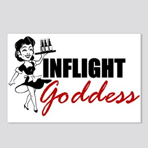 Inflight Goddess Postcards (Package of 8)