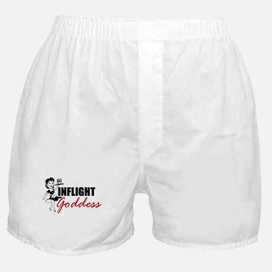 Inflight Goddess Boxer Shorts