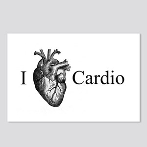 I Heart Cardio Postcards (Package of 8)