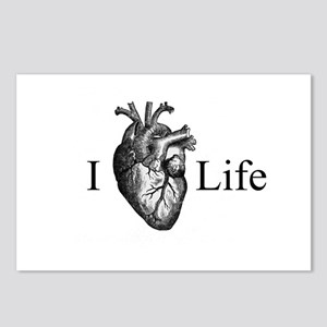 I Heart Life Postcards (Package of 8)