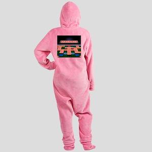 Dyslexia - Footed Pajamas