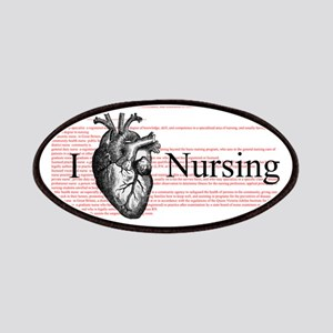I Heart Nursing Definition Patches