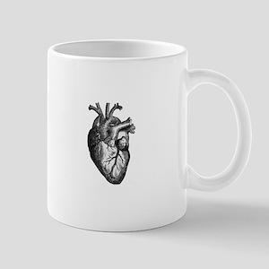 Vintage Heart Mug
