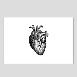 Vintage Heart Postcards (Package of 8)