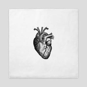 Vintage Heart Queen Duvet