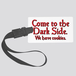 darkside_rect2 Luggage Tag